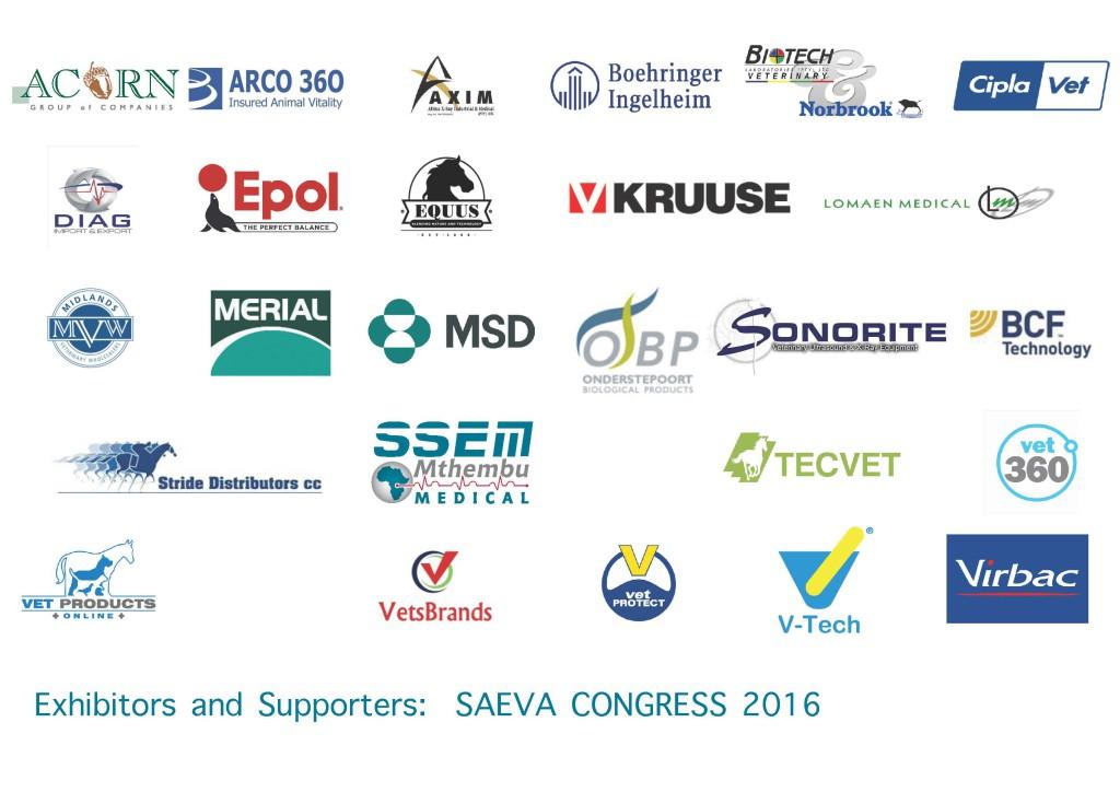 SAEVA 2016 sponsors